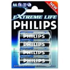 BATERIA LR06 PHILIPS EXTREMELIFE 387 B/C OP4SZT